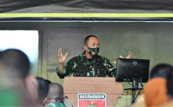 Pangdam XIV Hasanuddin Mayjen TNI Andi Sumangerukka, S.E