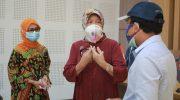 Anggota DPR Hasnah Syam Bantu Alat Rapid Test untuk RSGM Unhas