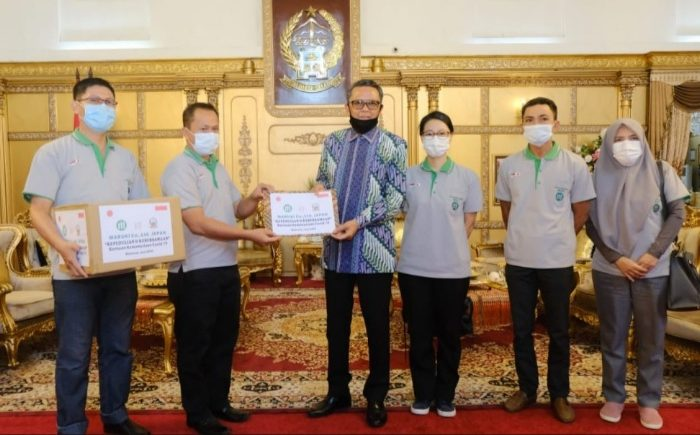 PT Maruki Beri Bantuan 30.000 Masker Medis untuk Sulsel