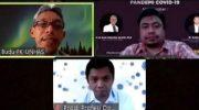 Dialog Virtual, BEM FK Unismuh Bahas Tantangan Pendidikan dan Tenaga Kesehatan
