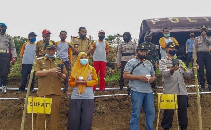 Polres dan Pemkab Selayar Launching Penanaman Hortikultura
