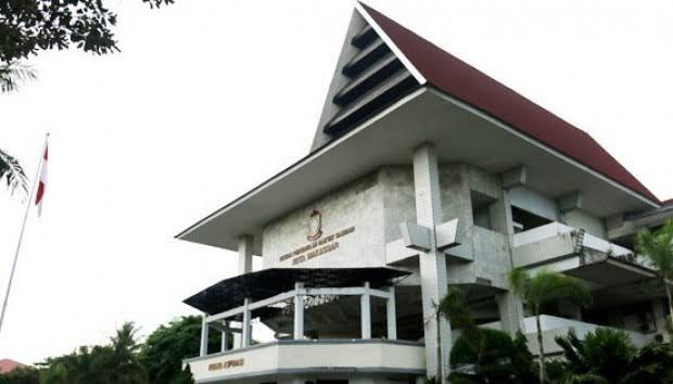 Kantor DPRD Kota Makassar.
