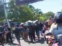Jenazah PDP di RS Labuang Baji, Makassar yang diambil paksa kerabat pada Jumat (5/6/2020).