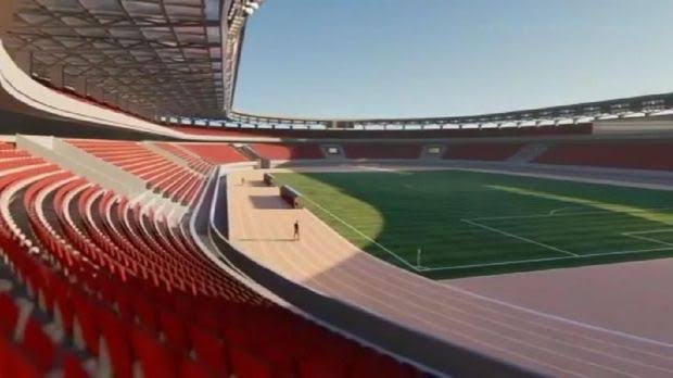 Desain renovasi Stadion Mattoanging/Foto: Instagram