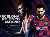 La Liga, Barcelona vs Atletico Madrid (c) Bola.net
