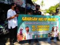 Camat Ujung Tanah Dukung Program Penanganan Covid-19 Berbasis RT/RW Gubernur Sulsel