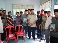 Askar HL saat menemui tim dan relawan di Tanete, Kecamatan Bulukumpa, Rabu (01/7/2019).