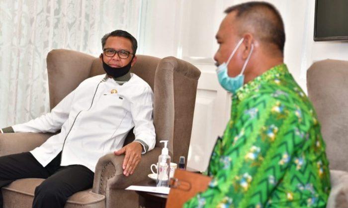 Silaturahim ke Gubernur Sulsel, KKSS Mimika Beri Bantuan Korban Banjir Jeneponto-Bantaeng