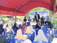 H Irwan Sosialisasikan Perda Perlindungan Lahan Pertanian Pangan di Sibatua Pangkep