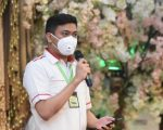 Bupati Adnan Usulkan Perda Wajib Masker di Rakor Percepatan Penanganan Covid-19.