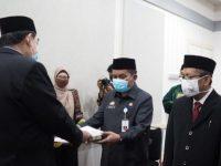 Abdul Hayat Gani, melantik empat pejabat lingkup Pemprov Sulsel,