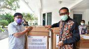 Gubernur Sulsel Salurkan Bantuan 5 Ventilator ke RS Swasta dan Pemerintah