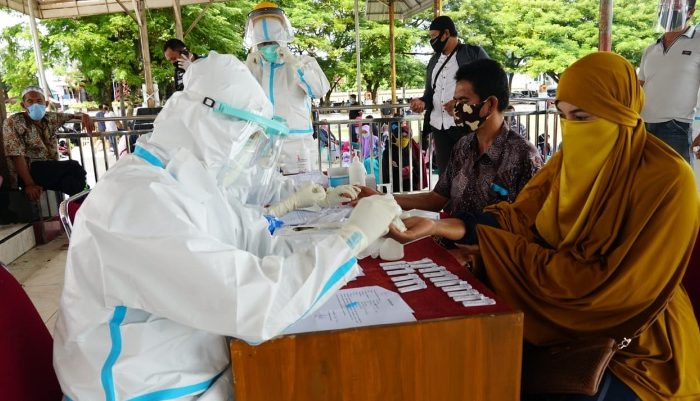 Pemkab Bulukumba Gelar Rapid Test Covid-19 Hari Pertama Sebanyak 150 Orang