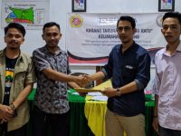 Musyawarah Besar Karang Taruna Tombong Ratu Kelurahan Laikang, Kecamatan Kajang, Kabupaten Bulukumba.