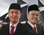 Bakal calon bupati dan wakil bupati Kabupaten Bulukumba, Jamaluddin Syamsir (JMS) dan Andi Mattampawali AS (HAMAS)