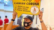Komunitas Sepeda Epic Makassar Edukasi Masyarakat Patuhi Protokol Kesehatan Covid-19