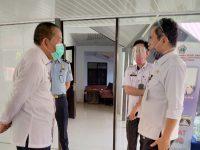 Kadiv Imigrasi Sulawesi Selatan Dodi Karnida saat berkunjung di Bantaeng.