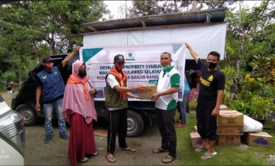 DPS Amanahkan MDMC Salurkan Bantuan bagi Korban Banjir Luwu Utara
