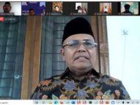 HMI Tarbiyah dan Masika ICMI Menggelar Diskusi Dari Terkait Kondisi Pesantren di Tengah Pandemi.
