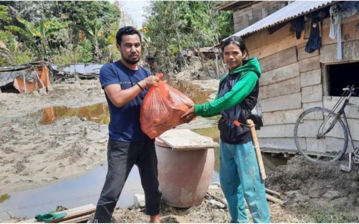 Sumillan For Humanity Kembali Salurkan Bantuan Korban Banjir Lutra