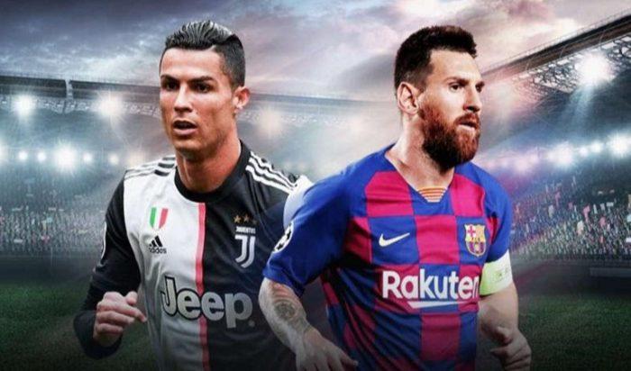 Christiano Ronaldo - Lionel Messi (int)