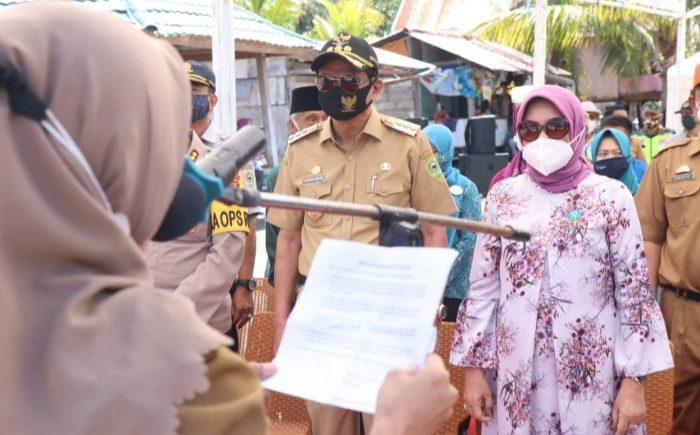 Deklarasi Open Defication Free (ODF) atau bebas BABS di Kecamatan Balusu.