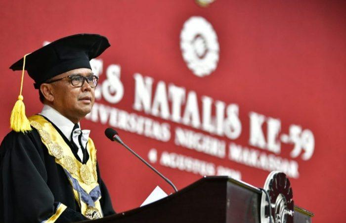 Gubernur Sulsel Apresiasi Capaian UNM Selama 59 Tahun Sebagai Dapur Pendidikan.