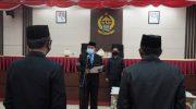 Sekprov Sulsel Lantik 35 Pejabat Fungsional, Didominasi Tenaga Kesehatan.