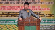 Rektor Unismuh periode 2020-2024, Prof Dr H Ambo Asse, M.Ag.