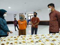 Bupati Gowa Tinjau Dapur Umum Kecamatan Pallangga