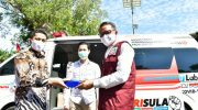 Nurdin Abdullah Launching Mobile Combat PCR Covid-19