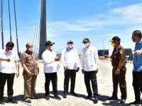 Gubernur Sulsel Tinjau Lahan Persiapan Pembangunan Twin Tower di CPI