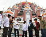 Pemprov Sulsel dan Tokoh Agama Sepakat Belum Gunakan Masjid 99 Kubah