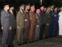 Gubernur Hadiri Apel Kehormatan dan Renungan HUT ke-75 RI