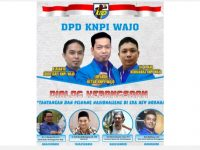 Dialog Kebangsaan DPD KNPI Kabupaten Wajo.