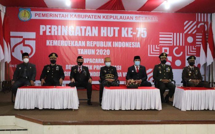 Peringatan HUT ke-75 Tahun Republik Indonesia.