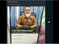 Akun Palsu WhatsApp Sasar Sekda Selayar