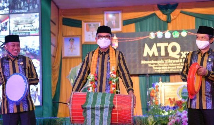 Gubernur Sulsel Buka MTQ ke-31 Tingkat Provinsi di Pangkep