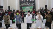 Bersama Kafilah Makassar, Wagub Sulsel Ikuti Pembukaan MTQ ke-31 Secara Virtual
