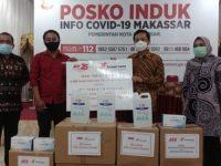 Kawan Lama Foundation Donasikan 5000 Masker Dan 75 Liter Hand Sanitizer Ke Pemkot Makassar