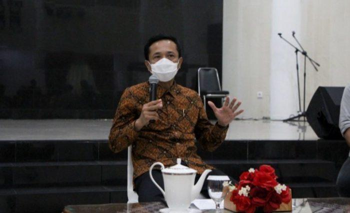 Penjabat Wali Kota Makassar, Prof Rudy Djamaluddin