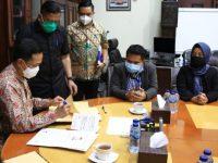Pemkot Makassar dan KPU Teken Adendum NPHD