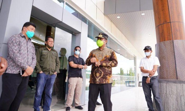 Kunjungi Bandara Buntu Kunik, Wagub Sulsel Dorong Pemda Toraja Alokasikan Subsidi Tiket