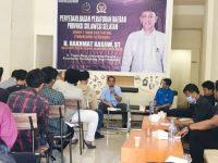 H. Rakhmat Kasjim menggelar sosialisasi Peraturan Daerah Nomor 3 Tahun 2018 tentang Pembangunan Kepemudaan.