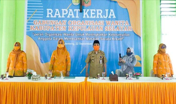 Gabungan Organisasi Wanita-wanita Selayar Gelar Rapat Kerja II