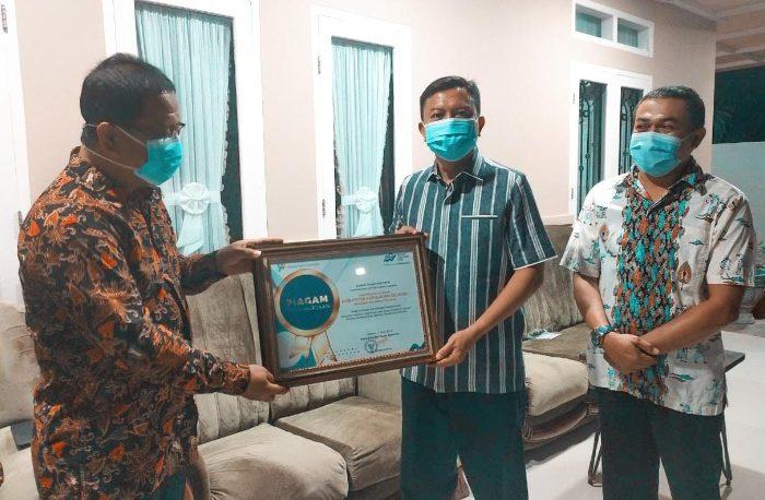 Bupati Selayar Terima Penghargaan dari Badan Pusat Statistik