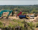 Penutupan sejumlah tambang ilegal di Kecamatan Moncongloe Kabupaten Maros yang dilakukan oleh Kapolda Sulsel, Irjen Pol Merdisyam.