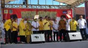 Deklarasi pasangan Andi Tajerimin Nur dan Havid Fasha pada Pilkada Maros.