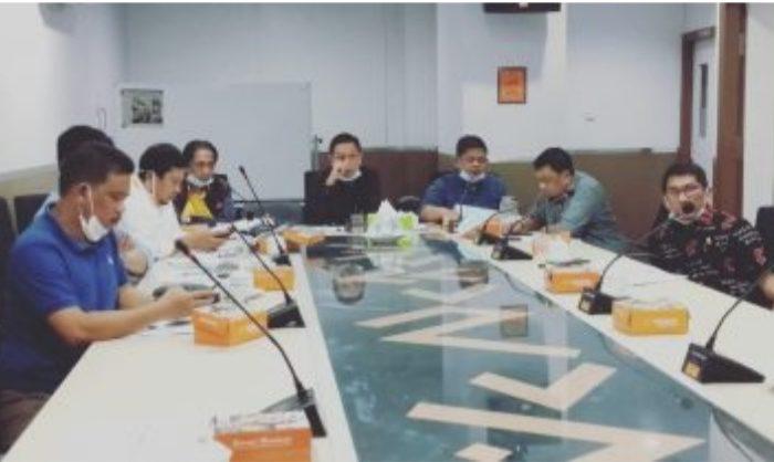 Komisi C DPRD Kota Makassar Bersama Dinas PU Bahas Ranperda PJ APBD 2019