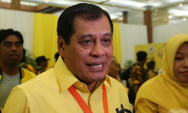 Wakil Ketua DPP Partai Golkar, H.A.M Nurdin Halid